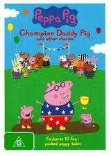 Peppa Pig: Champion Daddy Pig * NEW DVD * (Region 4 Australia)