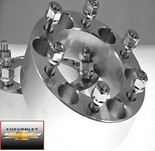 4 Pc Chevy 1500 6 Lug Billet Wheel Spacers Adapters 1.50 Inch # AP-6550C1415