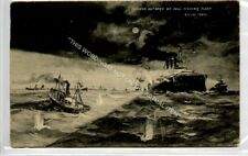 (Ld6066-183) Russian Outrage on HULL Fishing Fleet 1904,  Used G-VG