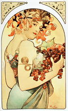 "18x24""Decor poster.Interior design Art Nouveau.Mucha French Nymph.6221"