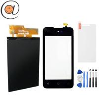 LCD + Ecran tactile Wiko Sunset 2 Noir + Outils + Protection + Adhésif