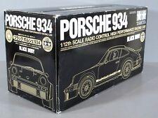 "NIB Tamiya R/C 1/12 Black Porsche 934 ""Limited Edition"" GT-01 Chassis Kit 84057"