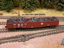 Hay Brothers SCRAP AUTOMOBILE TIRES LOAD - Fits Micro-Trains 50' Gondolas