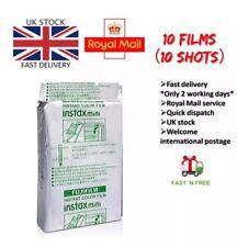 10 Fujifilm instax MINI Fuji Film for Fujifilm Mini 7s/8/25/50/90/70UK Postage