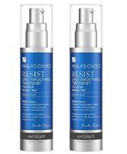 2x Paula's Choice RESIST Daily Smoothing Treatment 5% AHA Glycolc Acid 1.7 oz