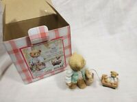 """Cherished Teddies  """"Mick Makes It His Business To Plan The Menu """" Boxed"""