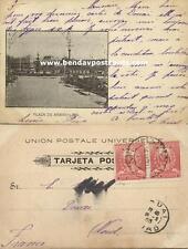 peru, Lima, Plaza de Armas (1903) Stamps