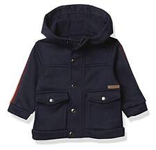 iXtreme Baby Boy's Fleece Jacket With Stripe-Navy 12 Months NEW
