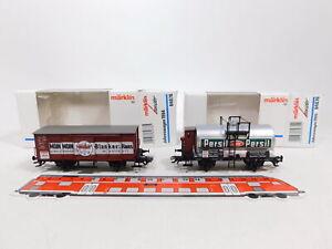 CW381-0,5# 2x Märklin Insider H0 AC Jahreswagen: 1994 84878 + 1995 84870 TOP+OVP