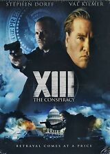 NEW DVD // XIII: The Conspiracy//  Val Kilmer, Jessalyn Gilsig, Stephen Dorff