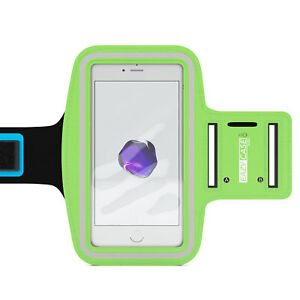 Universal Sports Armband Phone Armband Bag Jogging Fitness Band Smartphone Green