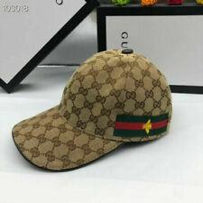 NEW GUCCI HAT Khaki or Black ,MEN'S/WOMEN,CANVAS BASEBALL CAP,ADJUSTABLE,SIZE M