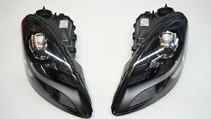 Porsche 718 982 Boxster Cayman Xenon Eu Headlight LED Without Pdls Set New
