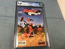 Harley Quinn 4 Robot Chicken comic..CGC 9.8 white pages