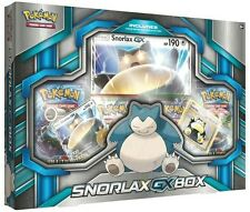 Pokemon TCG: Snorlax GX Box (Booster Packs / Promo Cards)