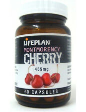 Lifeplan Montmorency Cherry 435mg  60 Capsules GOUT, INFLAMMATION