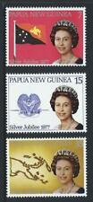 1977 PAPUA NEW GUINEA Silver Jubilee Set MNH (SG 330-332)