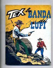 TEX TRE STELLE # LA BANDA DEI LUPI # N.81 - Novembre 1970 # Araldo # Lire 250