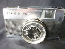 Old Vtg Antique Collectible Olympus Quickmatic EEM Camera W/ Case Made In Japan