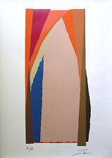 "LARRY ZOX Signed 1978 Original Color Silkscreen - ""Bonac II"""