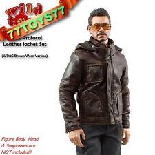Wild Toys 1/6 Ghost Protocol Jacket_ Brown Jacket (Worned)+Grey Pants_ WT019C