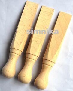 3xTraditional Wooden  Beech Wood Door Stop Wedge,Door Stopper stop