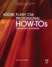 NEW - Adobe Flash CS4 Professional How-Tos: 100 Essential Techniques