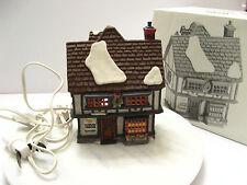 Retired Department 56 Heritage Village Dickens Village Tutbury Printer - 55689