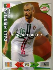 Adrenalyn XL-raul meireles-portugal-Road to 2014 FIFA World Cup Brazil