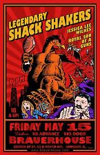 Legendary Shack Shakers Tour Poster