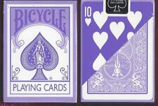 1 DECK Bicycle Fashion purple reverse-face playing cards  FREE USA SHIPPING!
