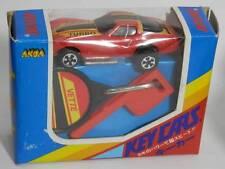 Chevrolet Corvette Red Turbo RARE Akoa KIDCO Japanese Burnin' Key Cars in BOX!