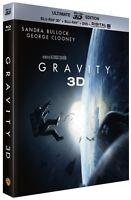 Gravity - Oscar® 2014 du Meilleur Réalisateur - Blu-Ray 3D + Blu-ray + DVD +