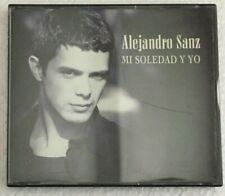 ALEJANDRO SANZ -MI SOLEDAD Y YO / LA FUERZA DEL CORAZON- SPANISH 2 X CD SINGLE