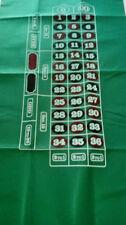 Roulette layout felt