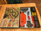 1965 Ideal Motorific Torture Track (COMPLETE TRACK) Alcan Hwy w/ 2 Cars & Box