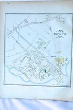New listing Winchester,Ma 1889 Original Ward Map,Antique Street Map,Wildwood,Emerson,Camb r