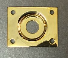 Mighty Mite LP Style Replacement Jack Plate in Gold