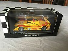 Minichamps Porsche RS Spyder. ALMS Mid-Ohio 2006. Car #7 In 1/43 Scale Diecast