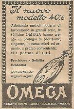 W8290 OMEGA il nuovo modello 4O,6 - Pubblicità del 1926 - Vintage advertising