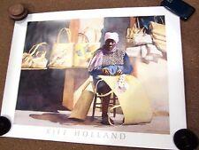 "KIFF HOLLAND - PRIDE OF PURPOSE - PRINT LITHO  - 33"" x 25"""