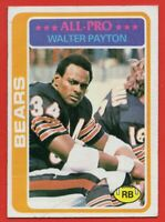 1978 Topps #200 Walter Payton EX-EX WRINKLE HOF Chicago Bears FREE SHIPPING