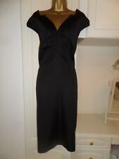 SMART LINED SHIFT DRESS TEATRO IN VG CON SIZE UK 18 BUST 44""
