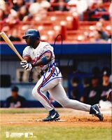 Rondell White Autographed 8 x 10 Photo w COA in Montral Expos  Uniform