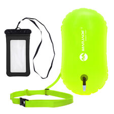 Open Water Swimming Safety Buoy Tow Float With Dry Bag and Cell Phone Case
