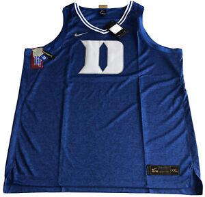 Nike Basketball Elite Jersey Duke University CT7175-480 2XL Limited Sewn $110