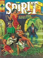 THE SPIRIT #8 The Beautiful Deadly Female Foes! 1975 Warren Magazine VG-
