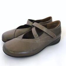 Wolky Passion Mary Jane Bronze Metallic Comfort Walking Shoes Size EU 39 US 8