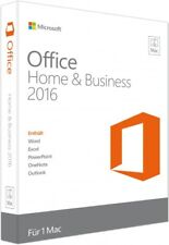 Microsoft Office Home and Business 2016 Mac - New - Full Version - Download
