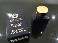 NEW Versace Pour Homme Dylan Blue EDT Spray Mini Perfume 5ml
